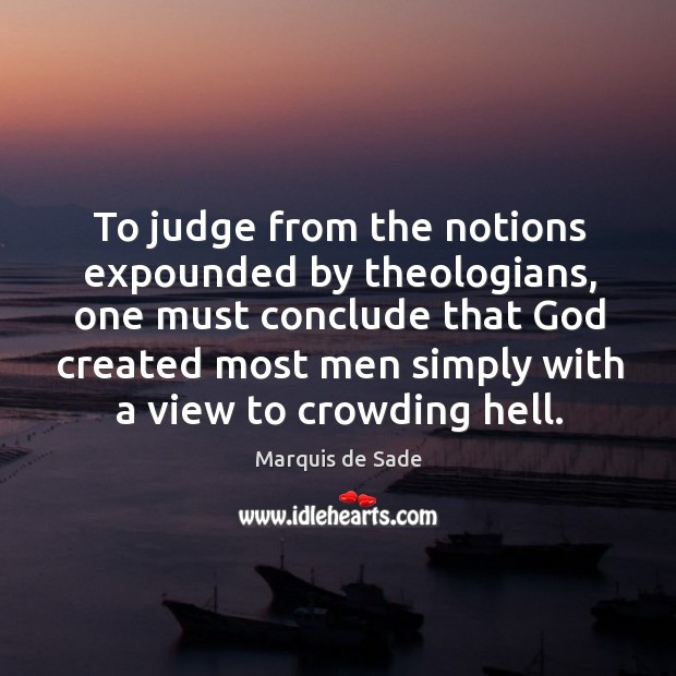 Image, To judge from the notions expounded by theologians