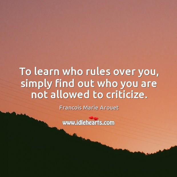 Criticize Quotes
