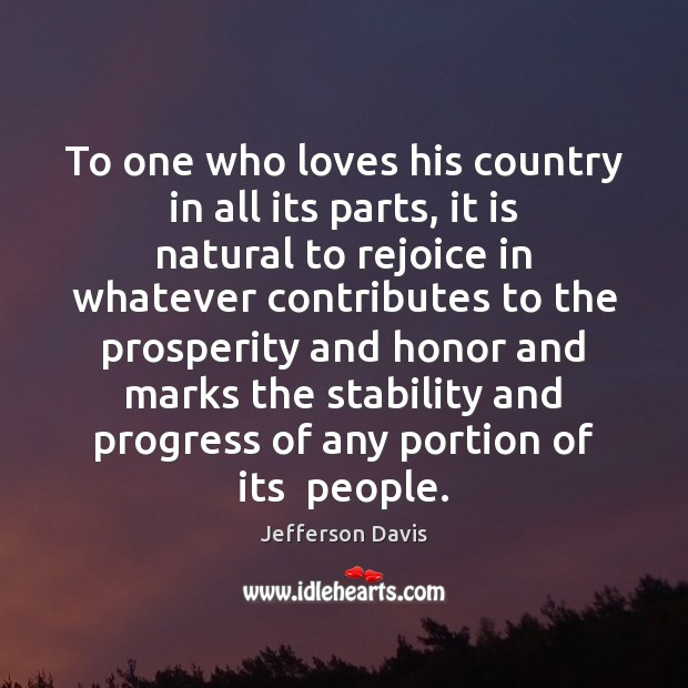 To one who loves his country in all its parts, it is Image