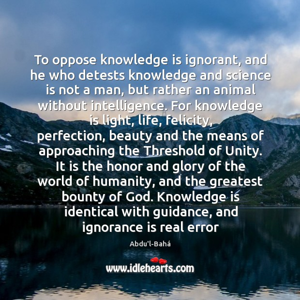 Ignorance Quotes Image