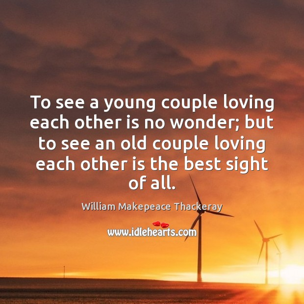 To see a young couple loving each other is no wonder; but Image