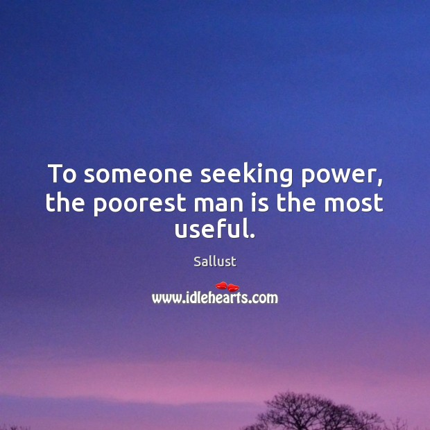 Picture Quote by Sallust