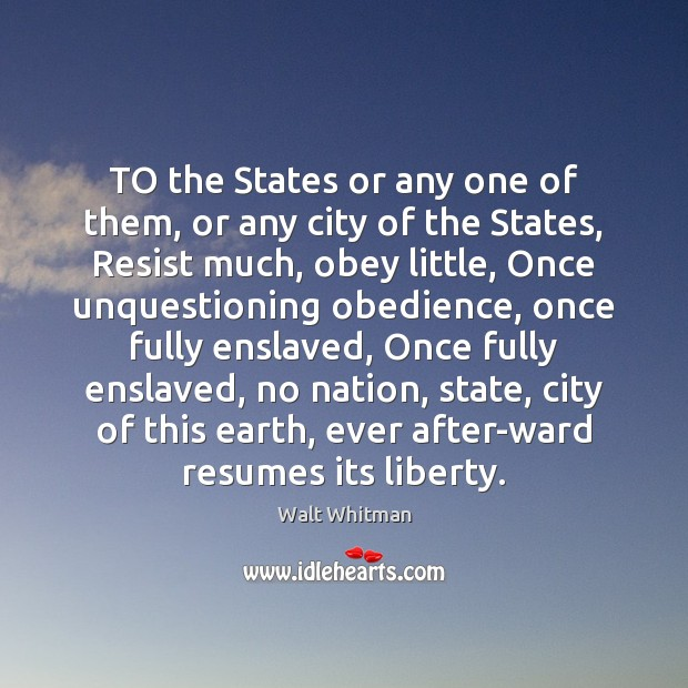 Image, TO the States or any one of them, or any city of