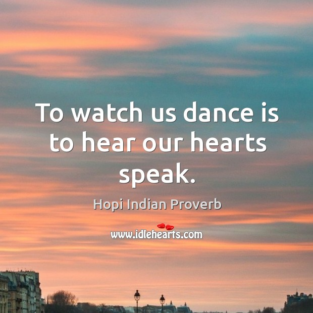 Hopi Indian Proverbs