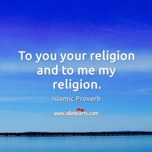 Islamic Proverbs