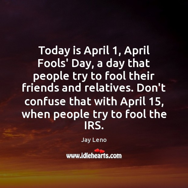 April Fool Quotes Image