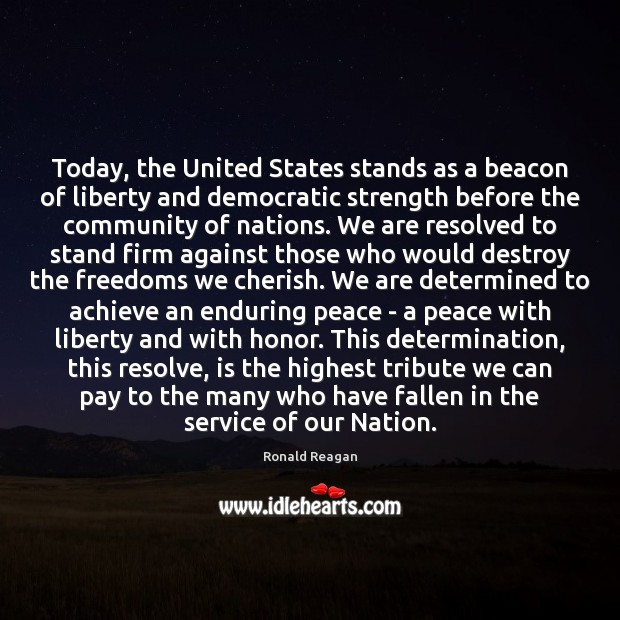 Image, Today, the United States stands as a beacon of liberty and democratic