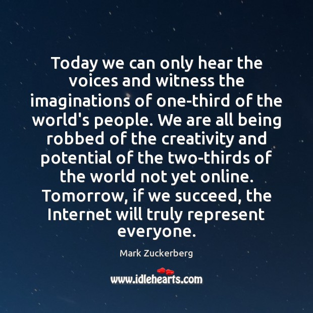 Today we can only hear the voices and witness the imaginations of Image
