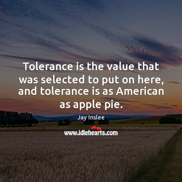Tolerance is the value that was selected to put on here, and Tolerance Quotes Image