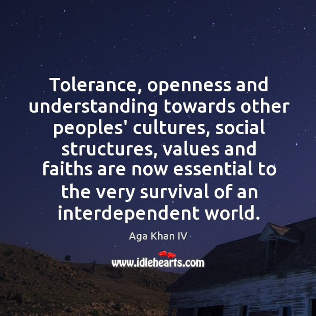 Image result for Understanding and tolerance of other cultures