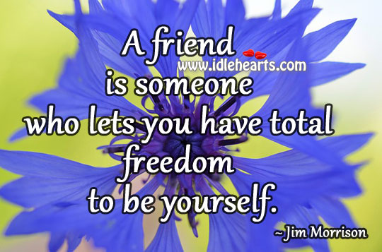 Freedom to be yourself Image