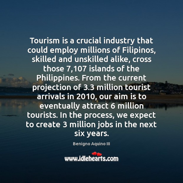 Image, Tourism is a crucial industry that could employ millions of Filipinos, skilled