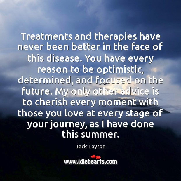 Treatments and therapies have never been better in the face of this Image