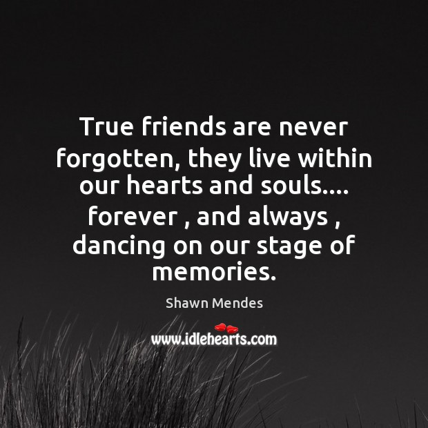 Image, True friends are never forgotten, they live within our hearts and souls….