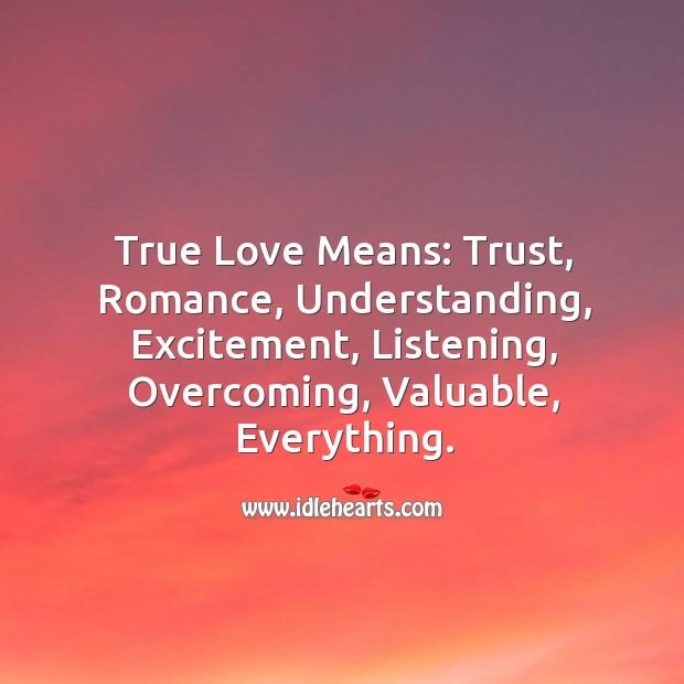 True love – What is true love? Understanding Quotes Image