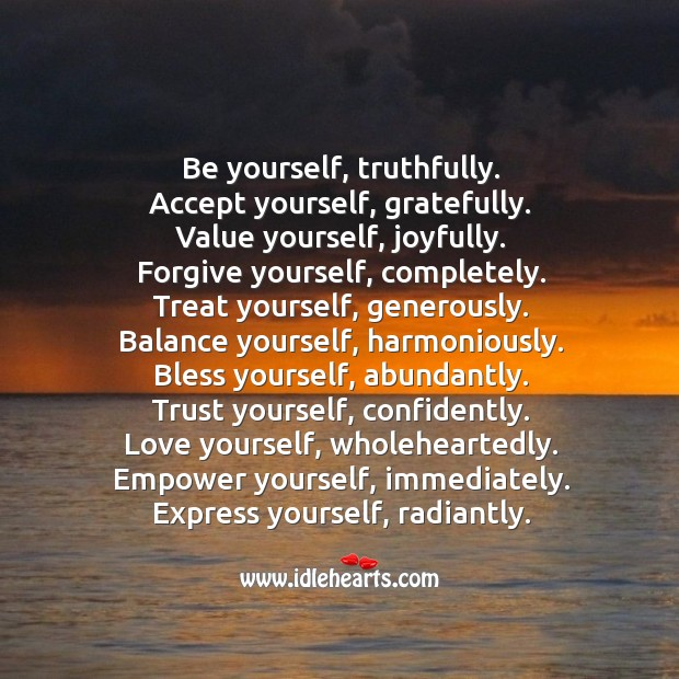 Image, Trust yourself, confidently.