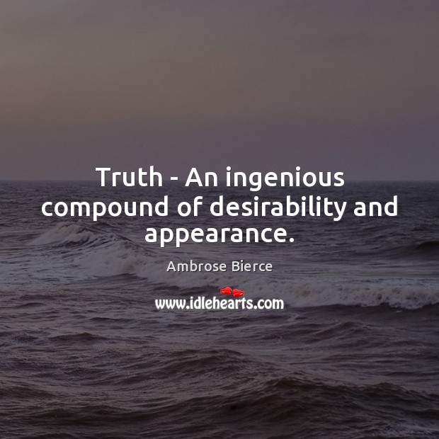 Picture Quote by Ambrose Bierce