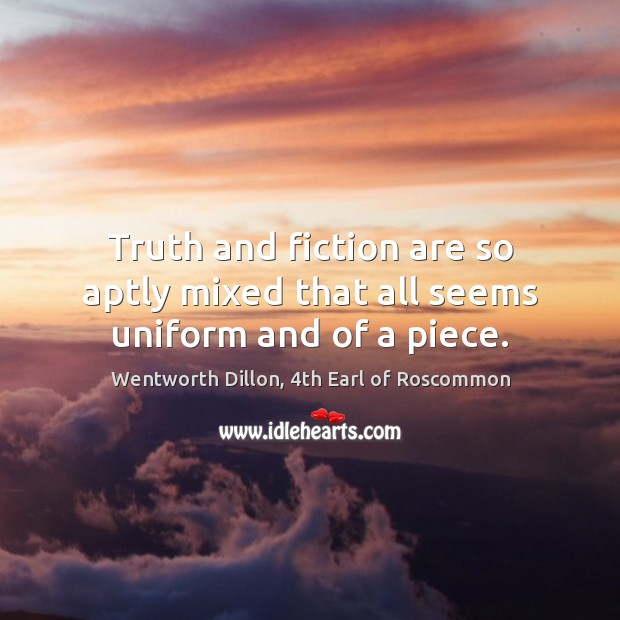 Picture Quote by Wentworth Dillon, 4th Earl of Roscommon