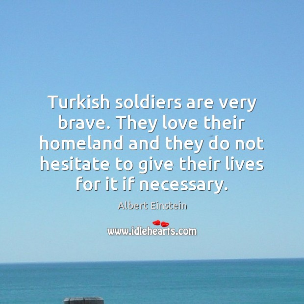 Image, Turkish soldiers are very brave. They love their homeland and they do