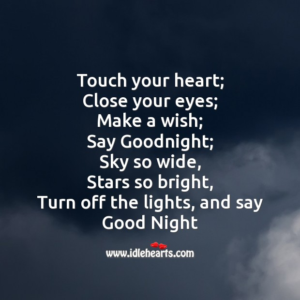 Turn off the lights, and say good night! Image