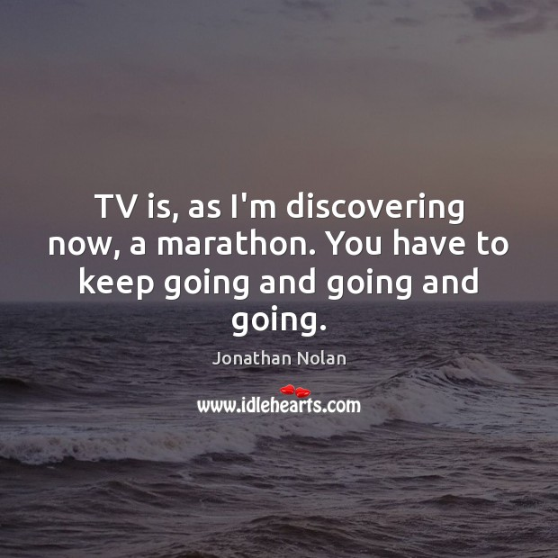 Picture Quote by Jonathan Nolan