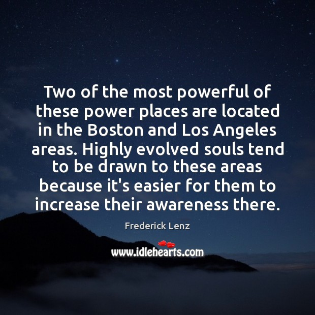 Two of the most powerful of these power places are located in Image