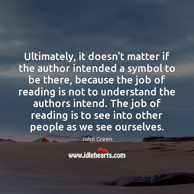 Ultimately, it doesn't matter if the author intended a symbol to be Image