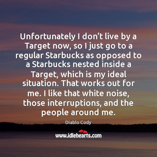 Unfortunately I don't live by a Target now, so I just go Image