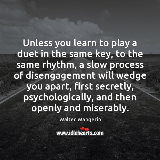 Unless you learn to play a duet in the same key, to Image