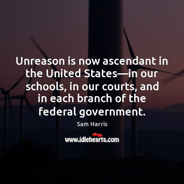 Image, Unreason is now ascendant in the United States—in our schools, in