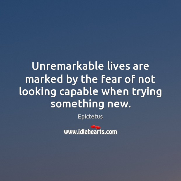 Unremarkable lives are marked by the fear of not looking capable when Image