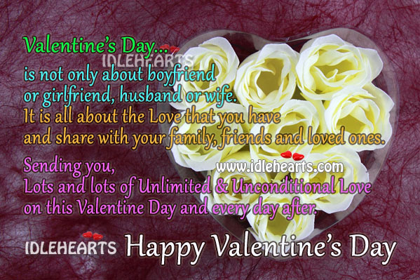 Image, Happy Valentine's Day. Make Everyday of this Week Special.