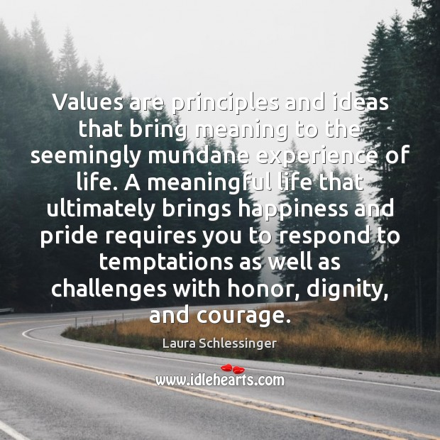 Image, Values are principles and ideas that bring meaning to the seemingly mundane