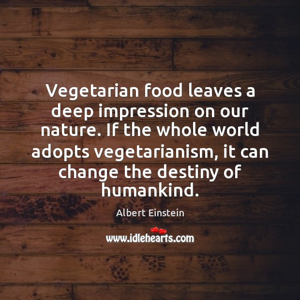 Image, Vegetarian food leaves a deep impression on our nature. If the whole