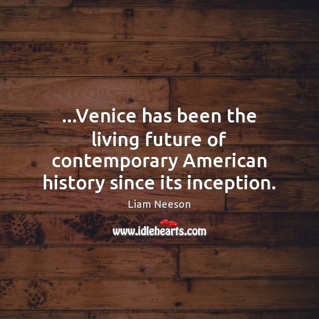 …Venice has been the living future of contemporary American history since its inception. Image