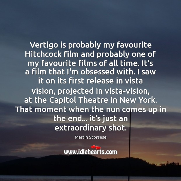 Image, Vertigo is probably my favourite Hitchcock film and probably one of my