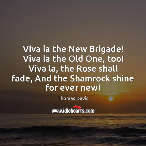 Viva la the New Brigade! Viva la the Old One, too! Viva Image