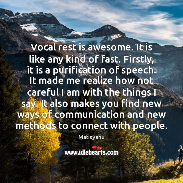 Image, Vocal rest is awesome. It is like any kind of fast. Firstly,