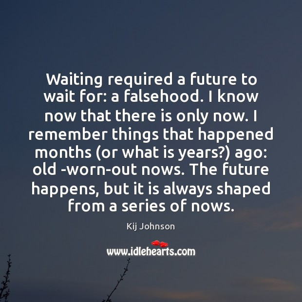 Waiting required a future to wait for: a falsehood. I know now Image