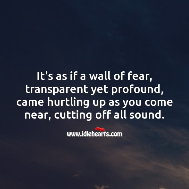 Wall of fear Love Messages Image