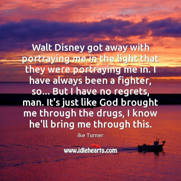 Walt Disney got away with portraying me in the light that they Image
