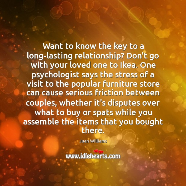 Image, Want to know the key to a long-lasting relationship? Don't go with