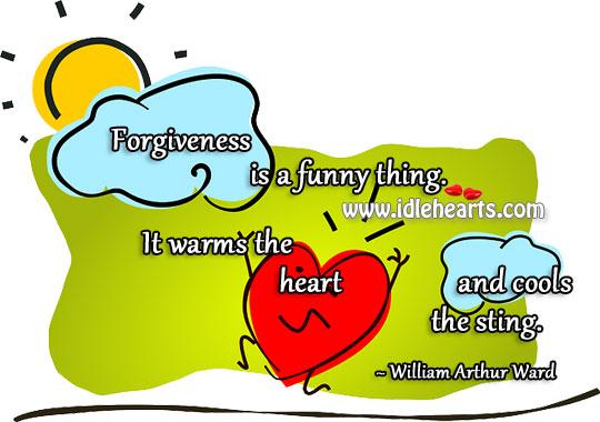 Forgiveness Warms The Heart