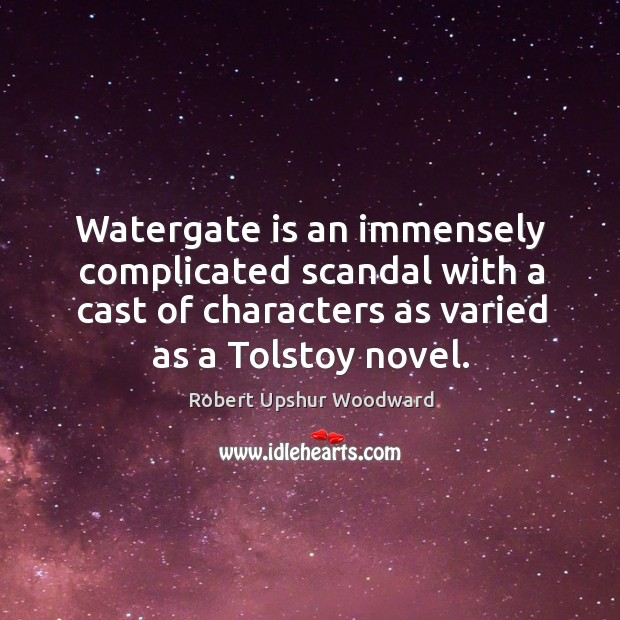 facts about the watergate scandal