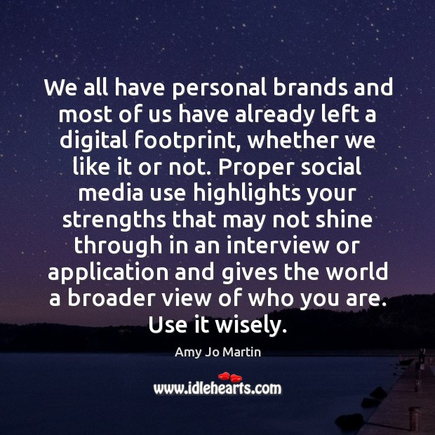 Image, We all have personal brands and most of us have already left