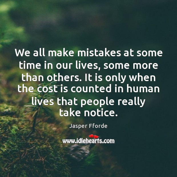 We all make mistakes at some time in our lives, some more Image