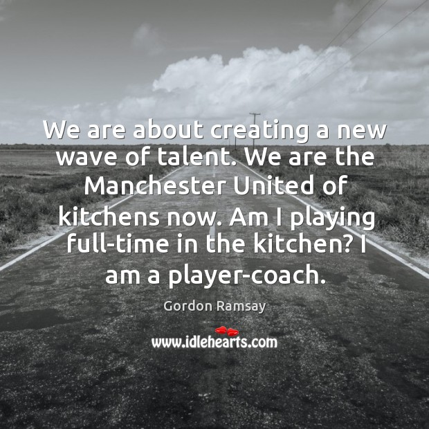 We are about creating a new wave of talent. We are the Image