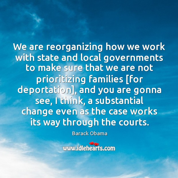 Image, We are reorganizing how we work with state and local governments to