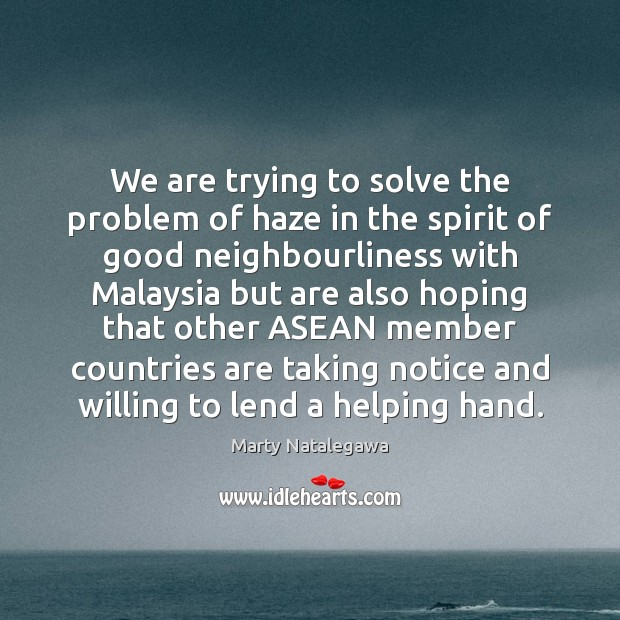 Image, We are trying to solve the problem of haze in the spirit