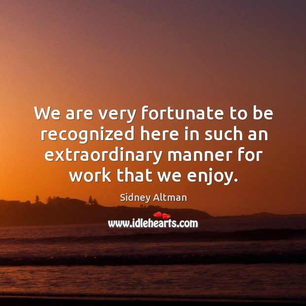 Picture Quote by Sidney Altman